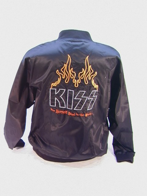 1006: KISS Limited Edition Tour Jacket Satin Coach Styl