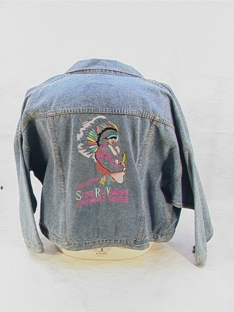 1009: STEVIE RAY VAUGHAN Double Trouble Band Tour Jacke