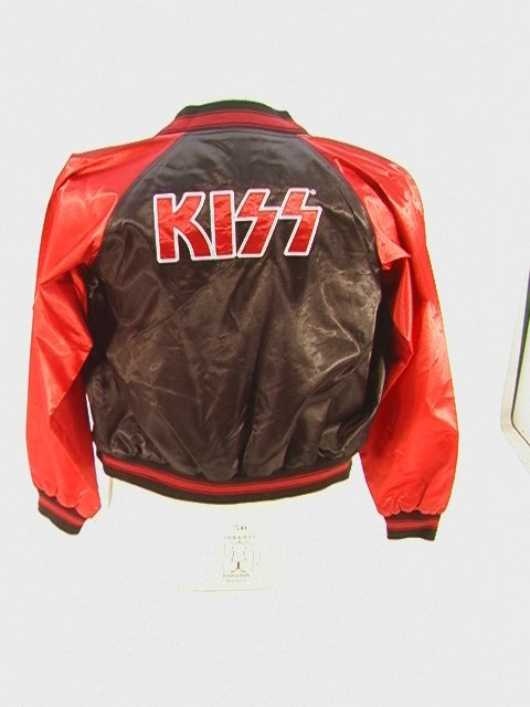 1012: KISS Ltd. Edition Tour Jacket Satin Bomber Style