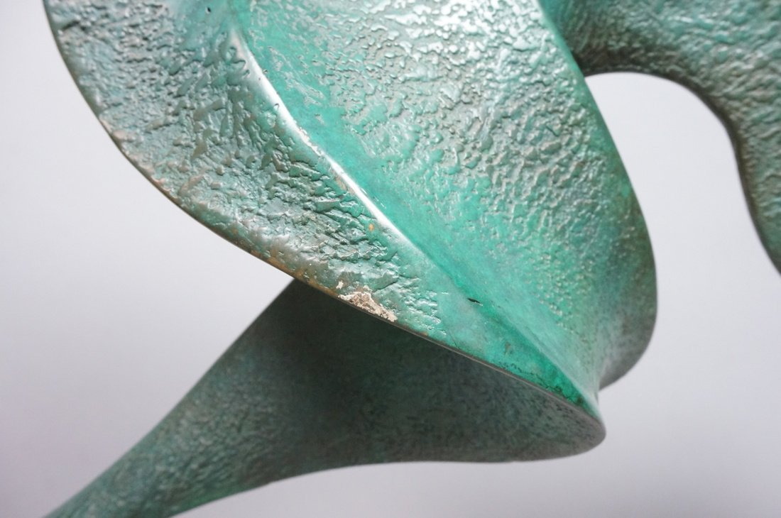 Large Bronze Henry Moore style Sculpture.  Sinuou - 6