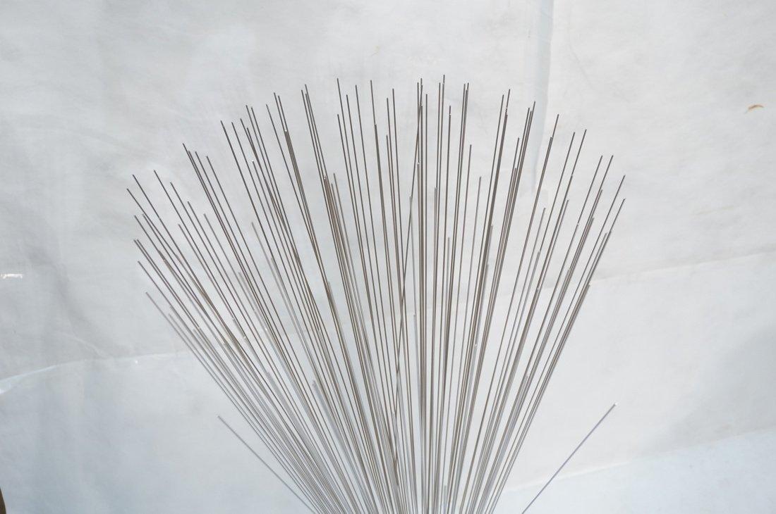 Tall Bertoia style Metal Rod Sculpture. Tapered w - 2