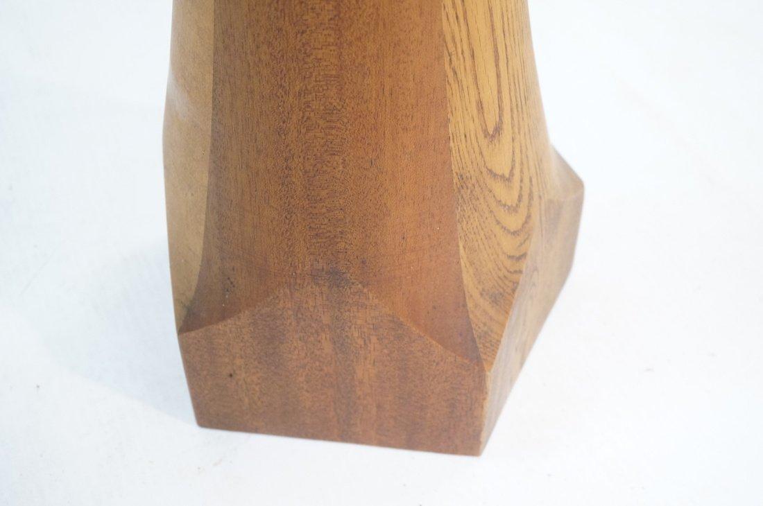 Tall Bertoia style Metal Rod Sculpture. Tapered w - 3