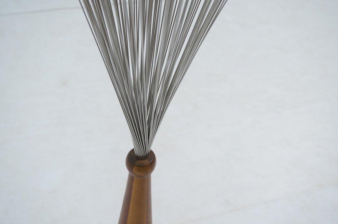 Tall Bertoia style Metal Rod Sculpture. Tapered w - 6