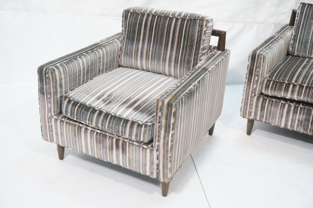 Pr Modernist Harvey Probber style Lounge Chairs. - 2