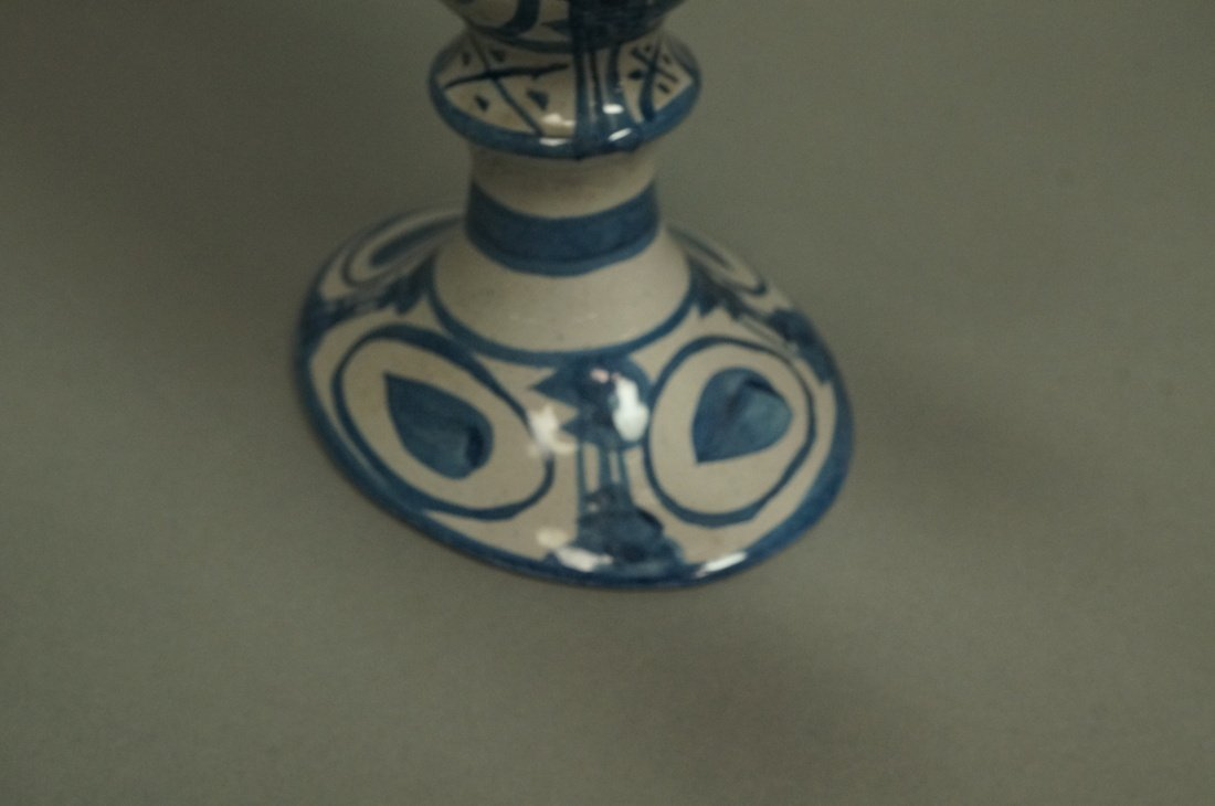 Pr BJORN WIINBLAD Figural Candlesticks. Denmark. - 4