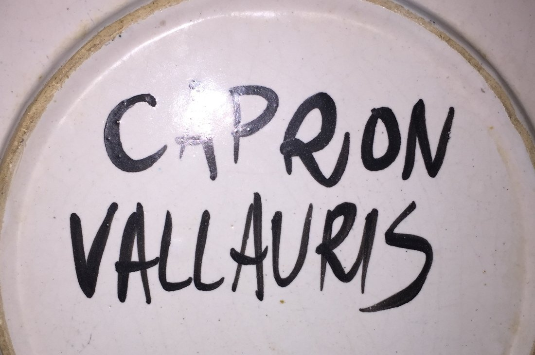 Set 7 ROGER CAPRON Vallauris Small Dishes. Cream - 10