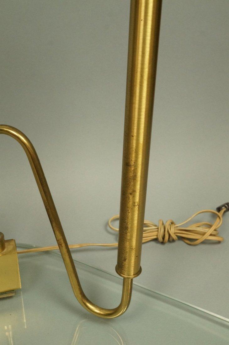 FONTANA ARTE style Lamp.  Italian Modern Brass an - 6