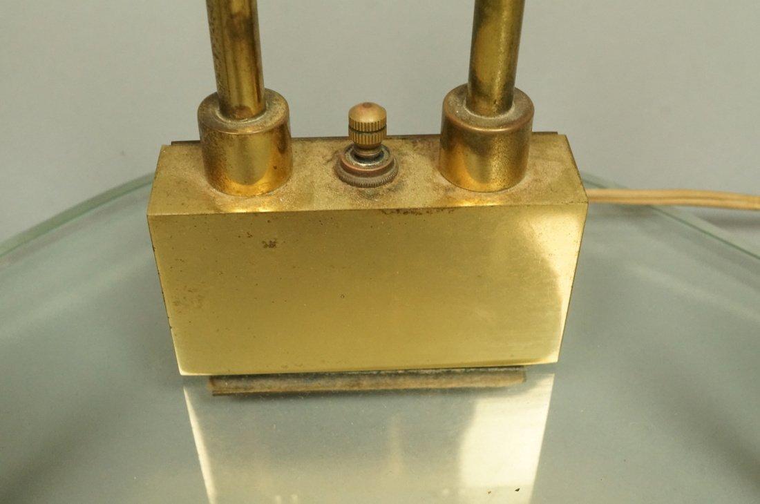 FONTANA ARTE style Lamp.  Italian Modern Brass an - 7