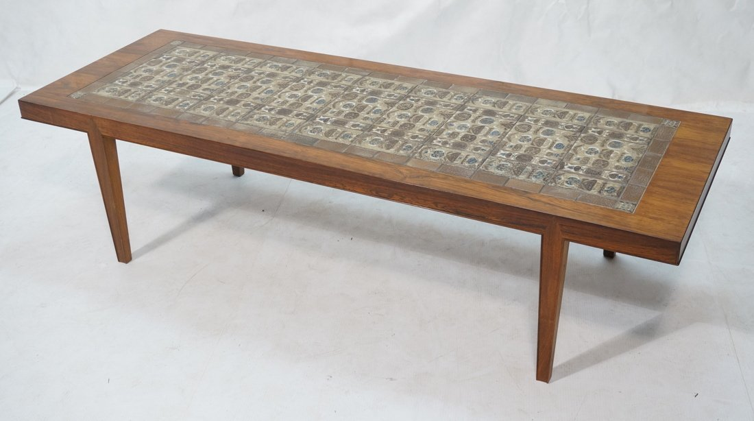 SEVERIN HANSEN Rosewood Coffee Table. BACA Series