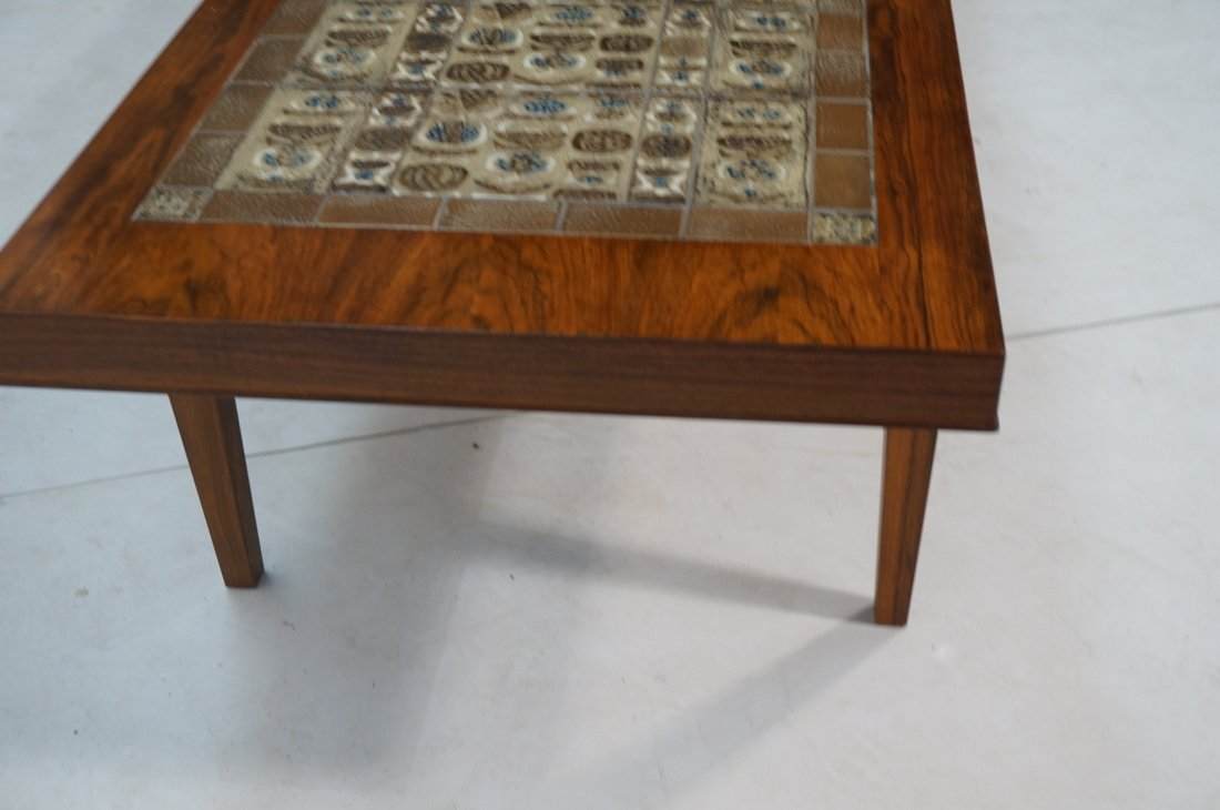 SEVERIN HANSEN Rosewood Coffee Table. BACA Series - 4