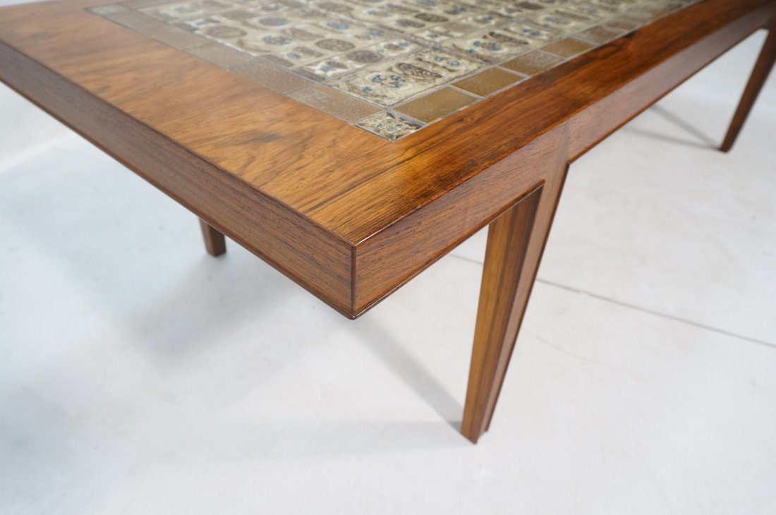 SEVERIN HANSEN Rosewood Coffee Table. BACA Series - 5