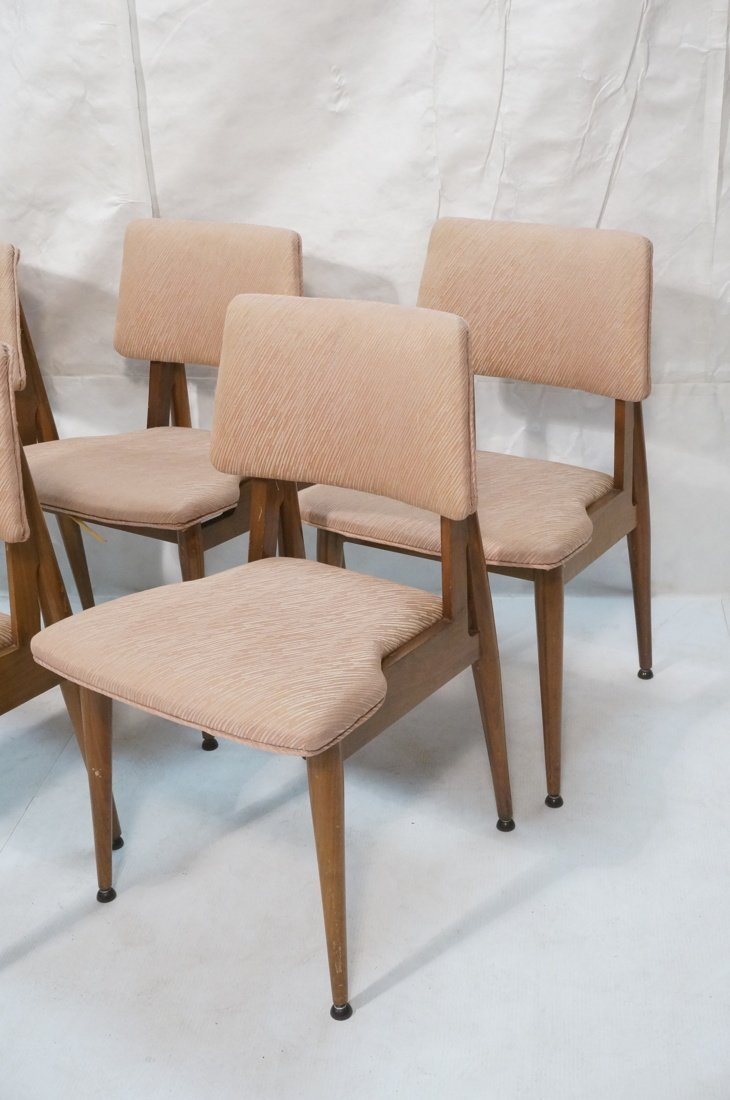 Set 6 American Modern Dining Chairs.  tapered Leg - 2