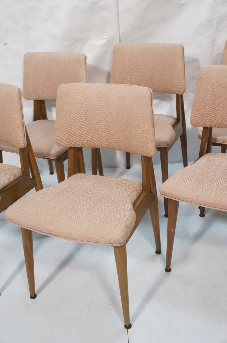 Set 6 American Modern Dining Chairs.  tapered Leg - 3