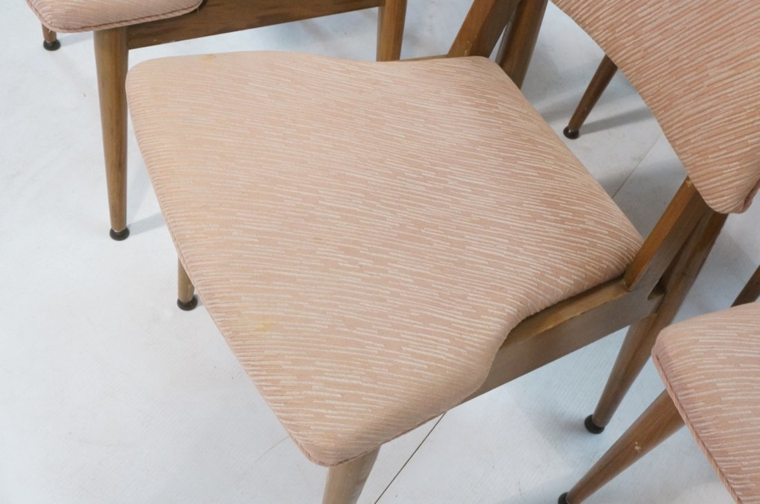 Set 6 American Modern Dining Chairs.  tapered Leg - 7