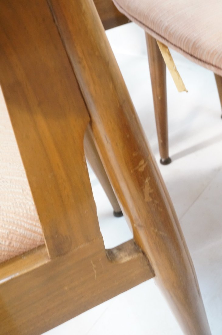 Set 6 American Modern Dining Chairs.  tapered Leg - 9