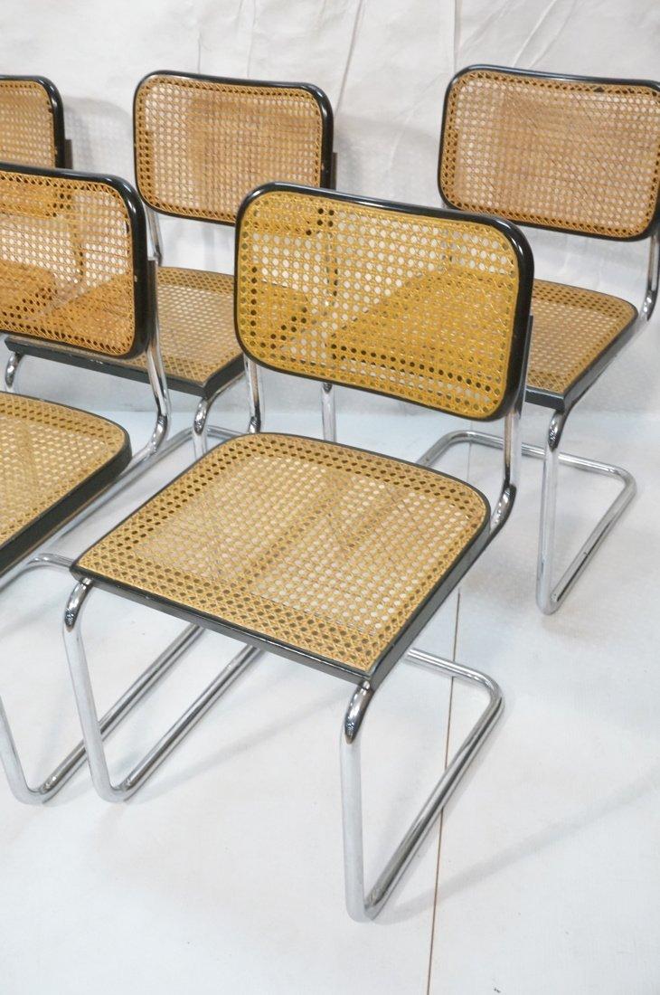 Set 8 Gavina Italy Dining Chairs.  Knoll inspecte - 2