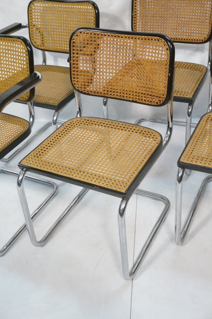 Set 8 Gavina Italy Dining Chairs.  Knoll inspecte - 4