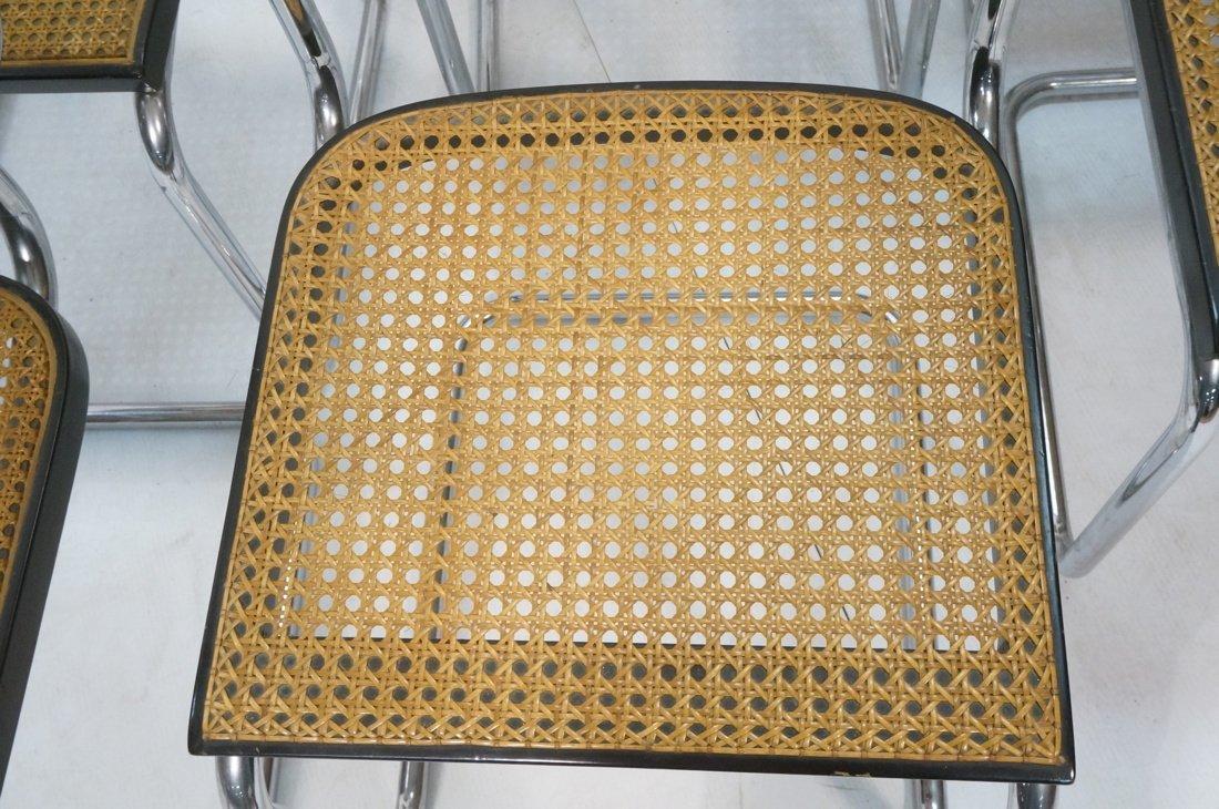 Set 8 Gavina Italy Dining Chairs.  Knoll inspecte - 6