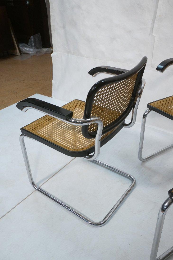 Set 8 Gavina Italy Dining Chairs.  Knoll inspecte - 7