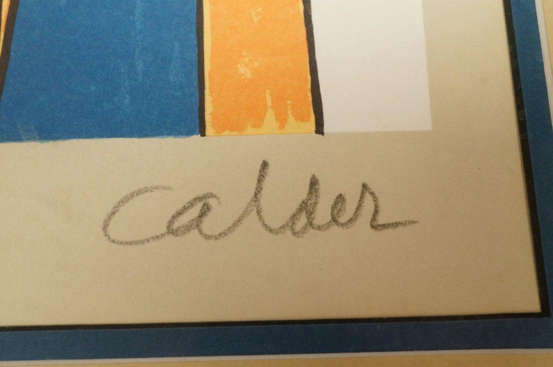 ALEXANDER CALDER Print. E/A; Pencil signed - 3