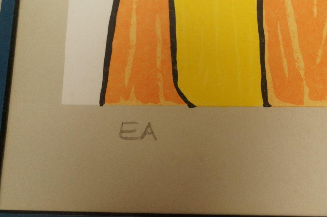 ALEXANDER CALDER Print. E/A; Pencil signed - 4