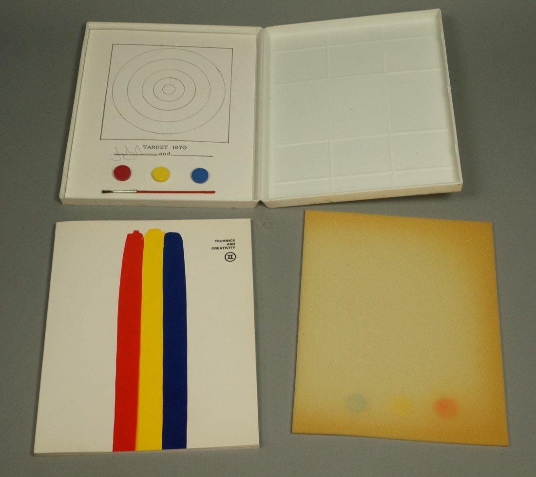 Signed Jasper Johns Technics and Creativity Book