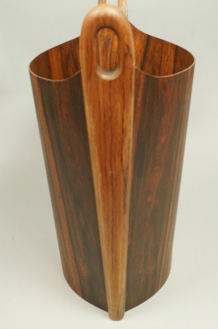PS HEGGEN Norway Rosewood Waste Basket. Trash Can - 6