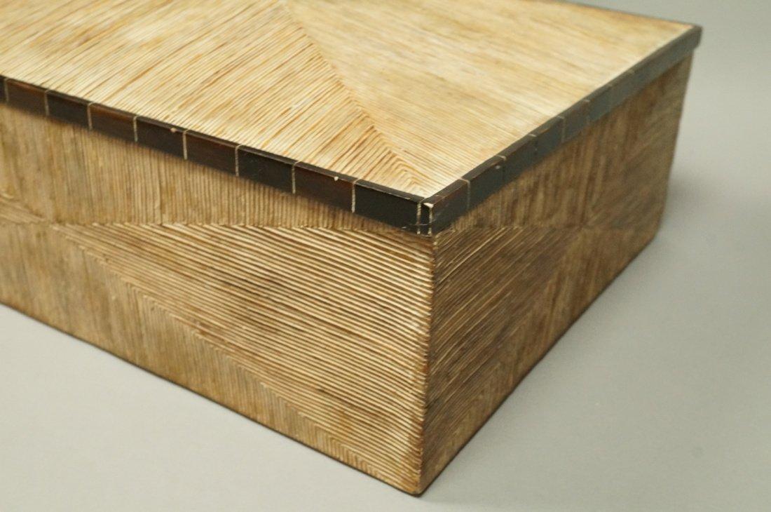 MAITLAND SMITH style Designer Lidded Box. Tribal - 3