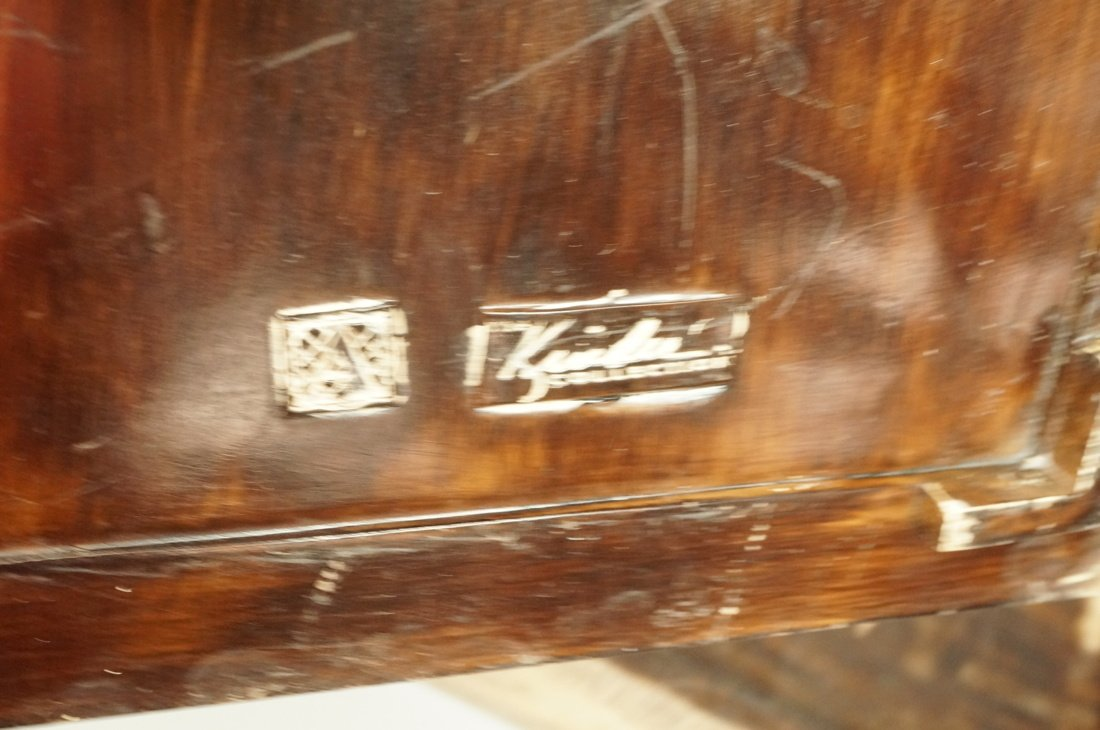 MAITLAND SMITH style Designer Lidded Box. Tribal - 5
