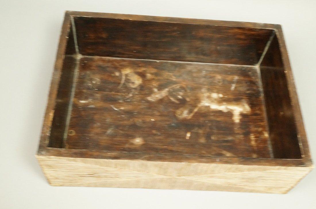 MAITLAND SMITH style Designer Lidded Box. Tribal - 6