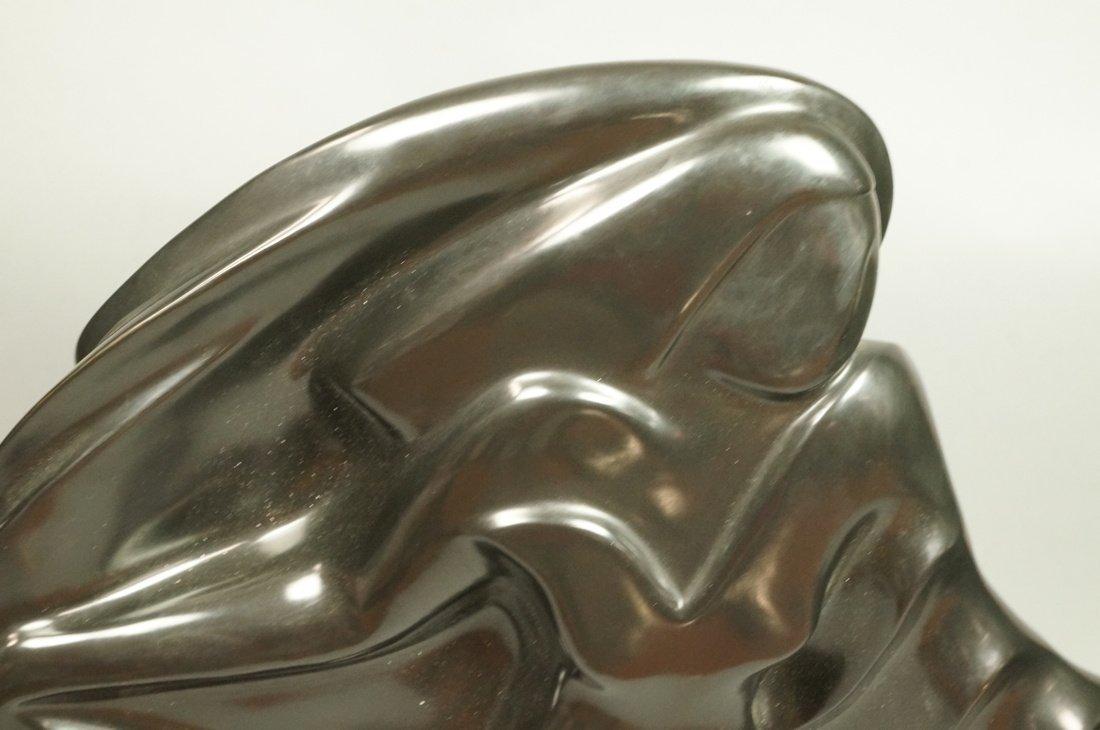 SHERRY C HOLLANDER Bronze Modernist Female Sculpt - 2