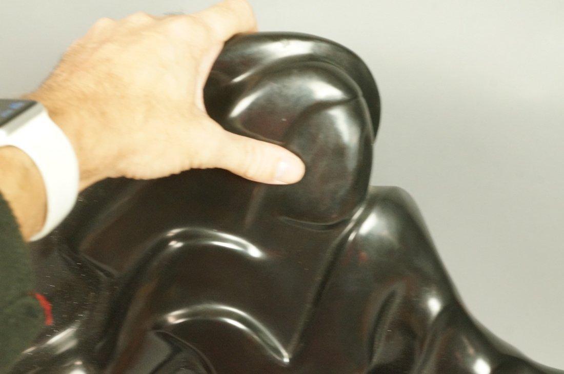 SHERRY C HOLLANDER Bronze Modernist Female Sculpt - 4