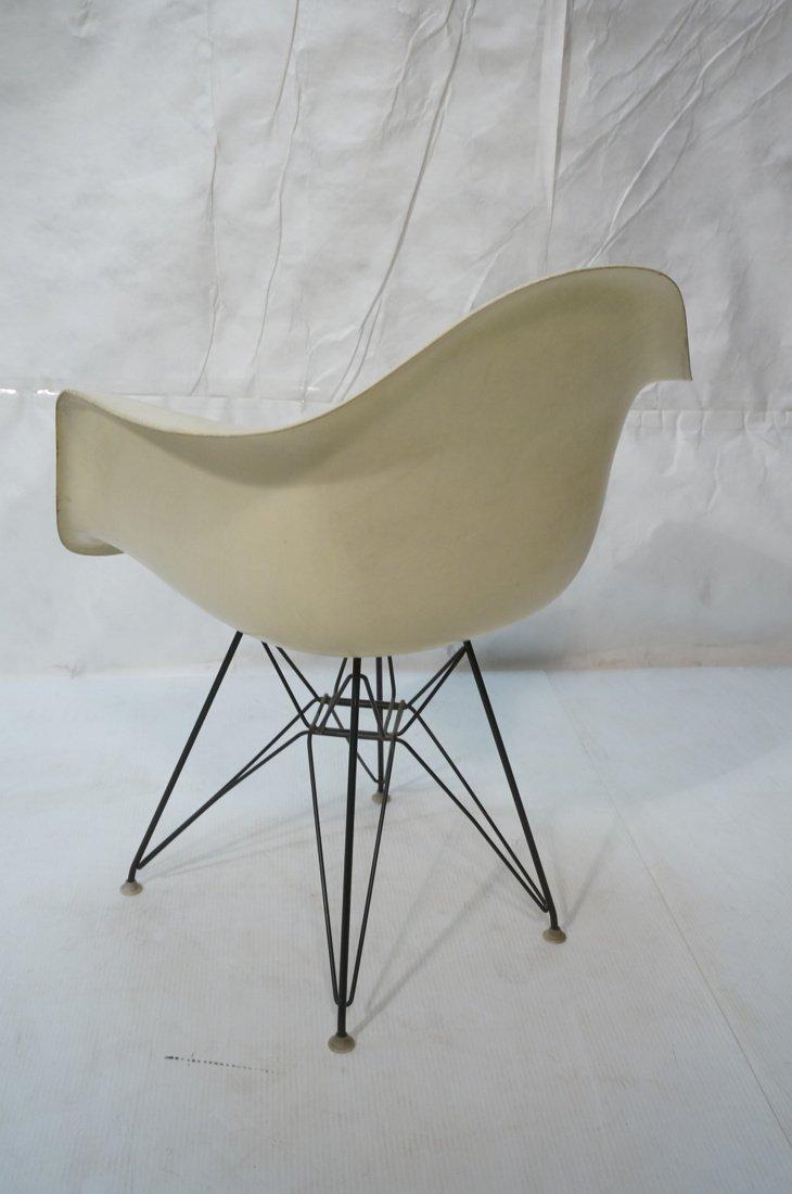 Pr CHARLES EAMES Fiberglass Shell Lounge Chair. H - 5