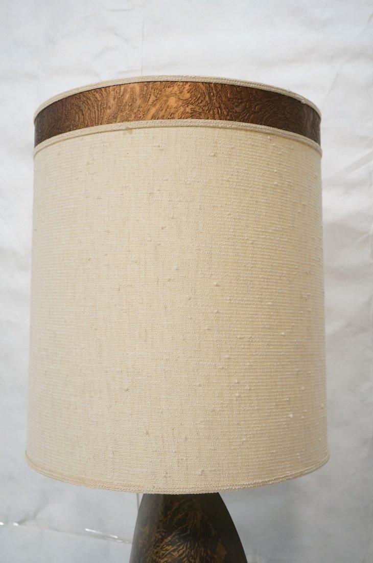 Tall HARRY BALMER Ribbon Form Metal Lamp. Produce - 7