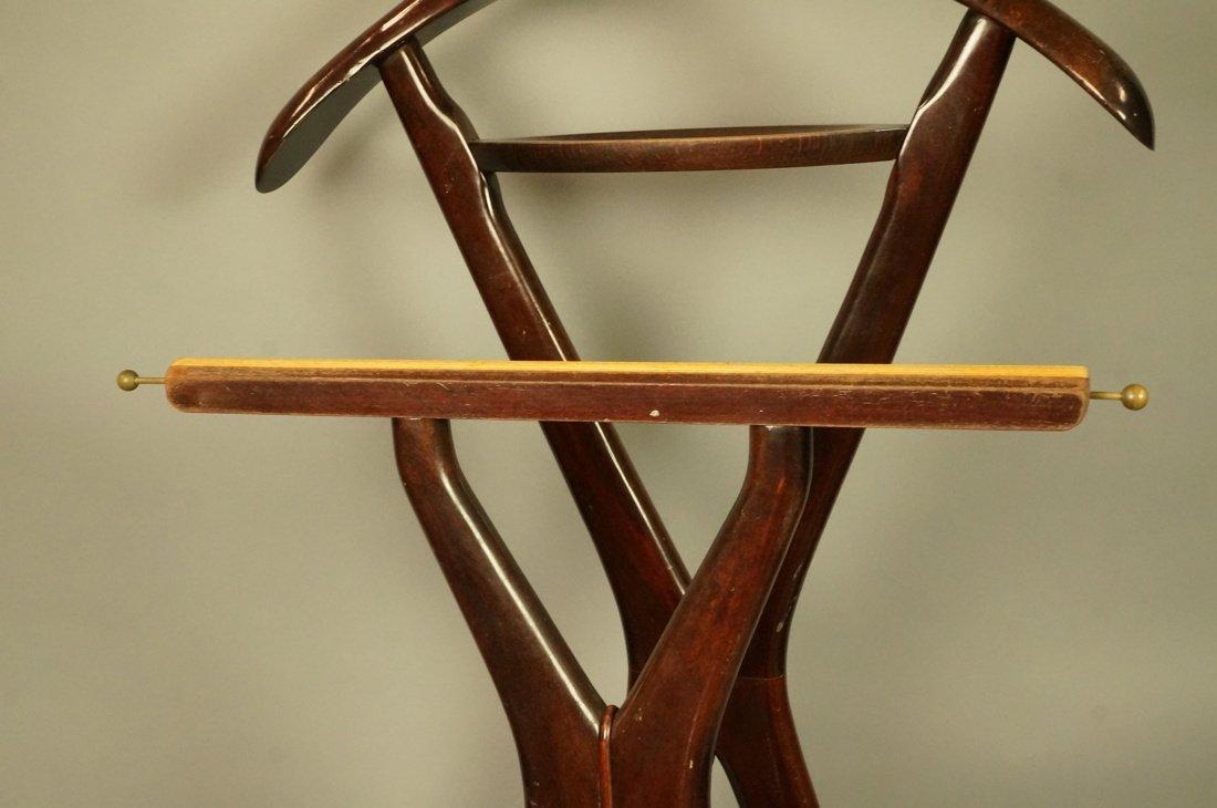 Ico Parisi Brown Wood Valet. FR Italian Modern va - 3