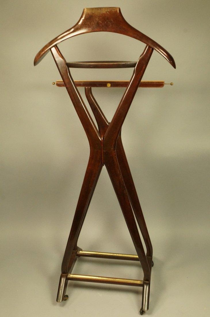 Ico Parisi Brown Wood Valet. FR Italian Modern va - 7