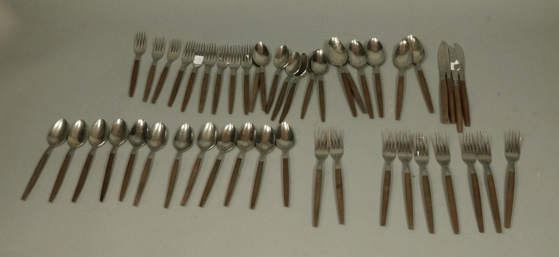 EKCO 47pc Set Modernist ETERNA Flatware. Service