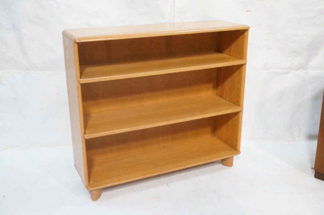 HEYWOOD WAKEFIELD Blond Bookcase. Champagne color
