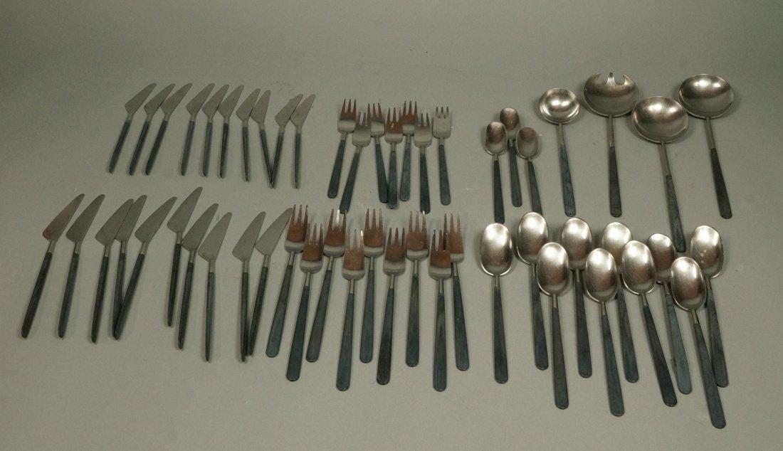 52pc Copenhagen Cutlery Danish Flatware.  Contras