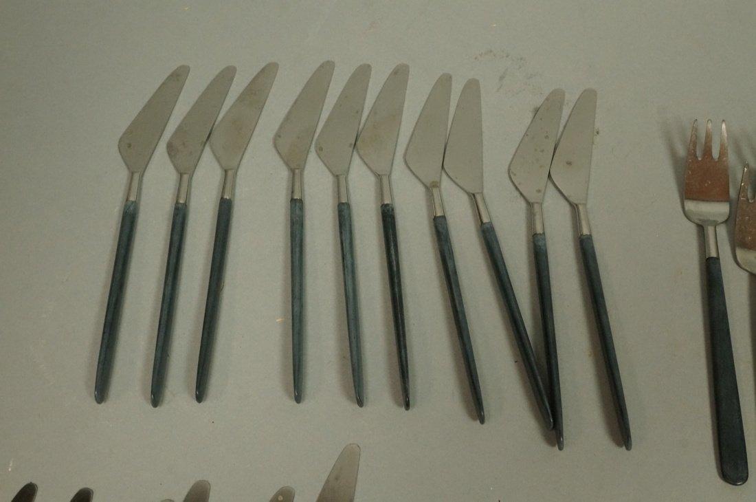 52pc Copenhagen Cutlery Danish Flatware.  Contras - 2