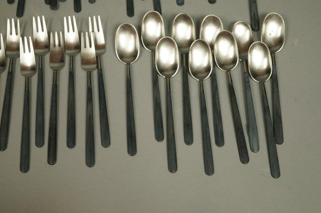 52pc Copenhagen Cutlery Danish Flatware.  Contras - 4