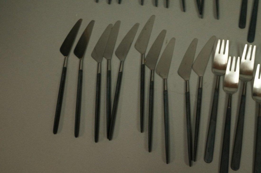 52pc Copenhagen Cutlery Danish Flatware.  Contras - 5
