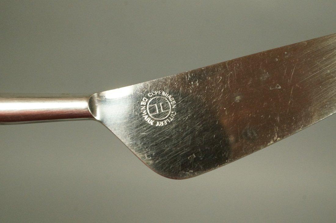 52pc Copenhagen Cutlery Danish Flatware.  Contras - 7