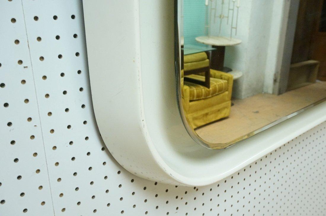 Fiberglass off white plastic 70's Modernist Wall - 6