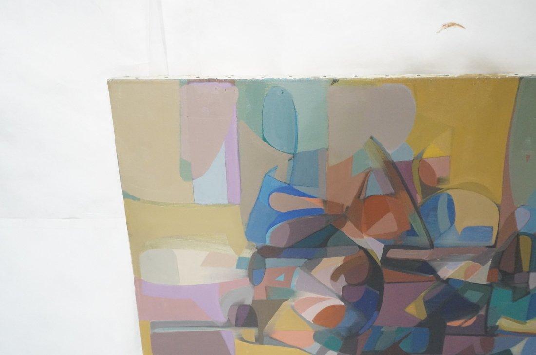 Claude Marangio Cubist Oil Painting. Modernist co - 3
