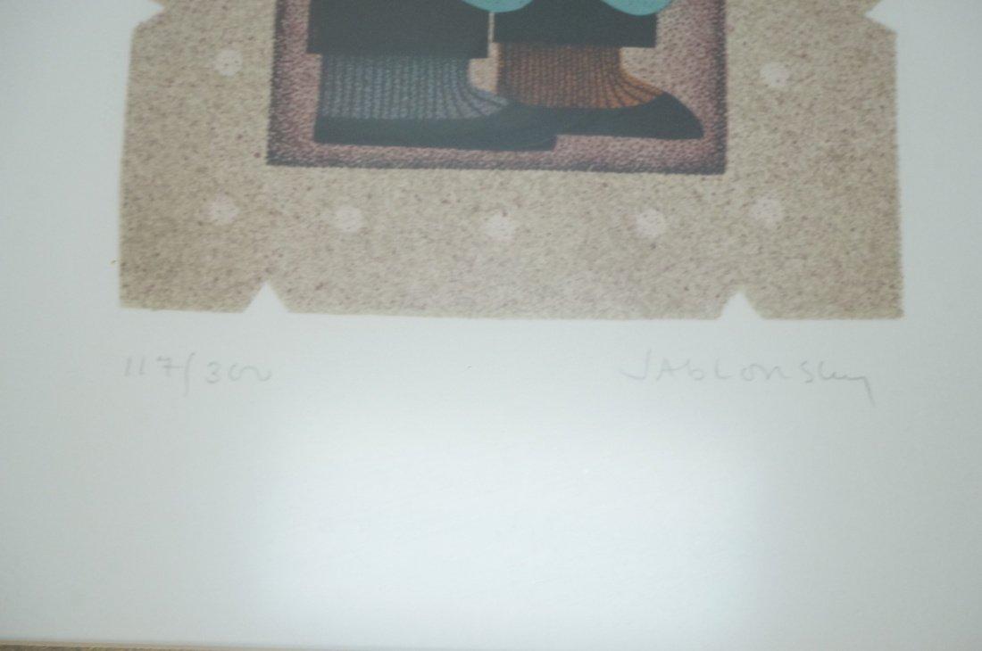 Lot 4 CAROL JABLONSKY Signed & Numbered Lithograp - 6