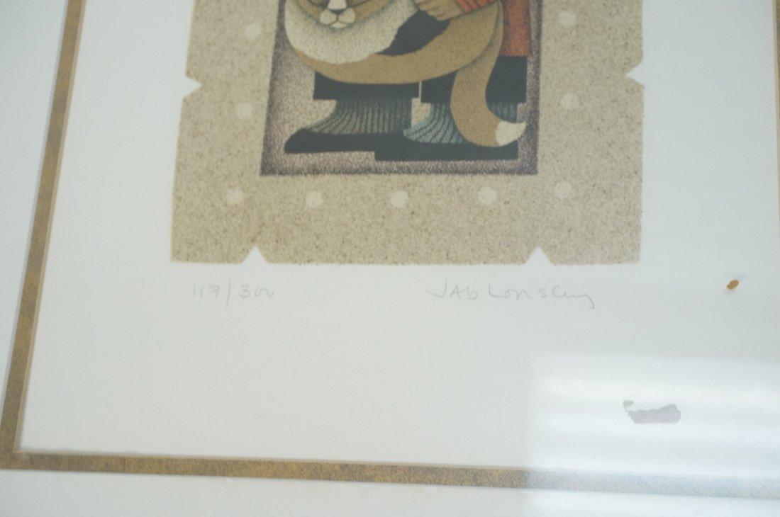 Lot 4 CAROL JABLONSKY Signed & Numbered Lithograp - 9