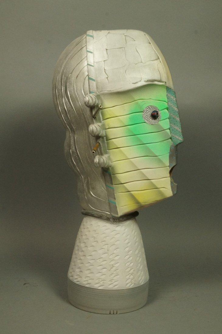 JAMIE DAVIS 6 '88 Memphis inspired Plaster Bust. - 2