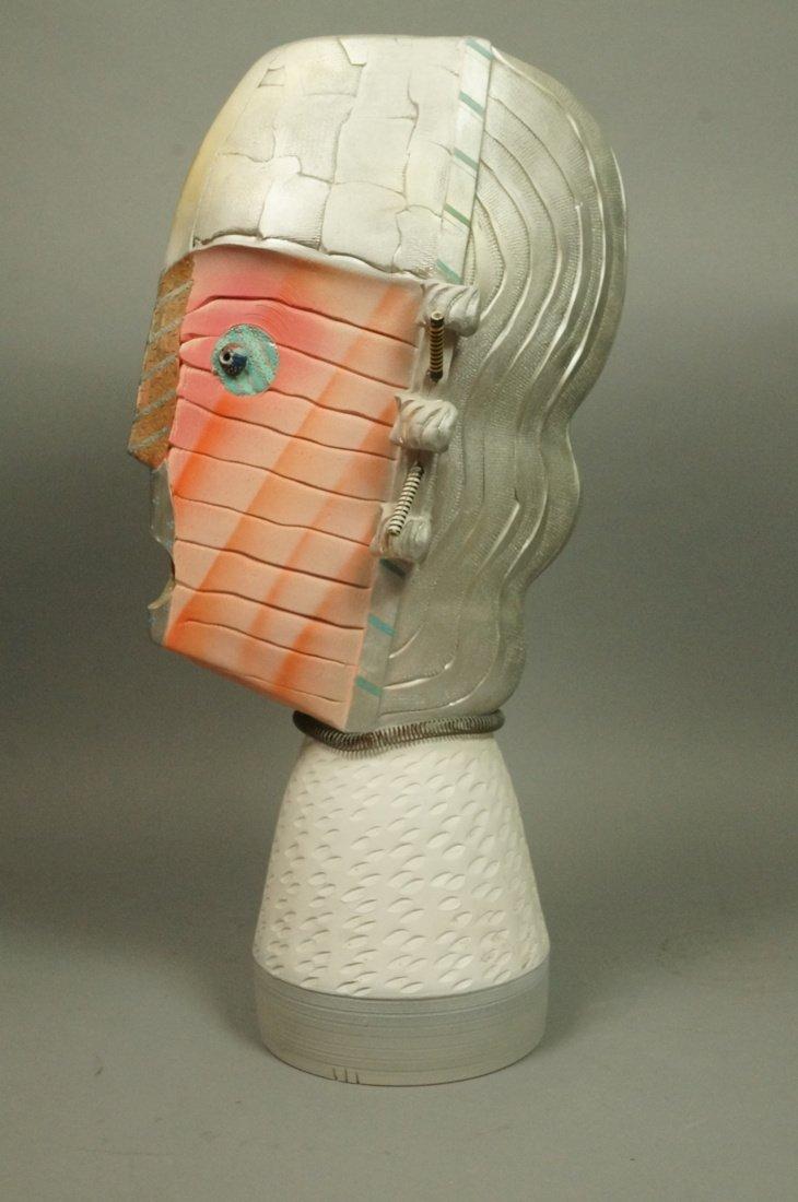 JAMIE DAVIS 6 '88 Memphis inspired Plaster Bust. - 6