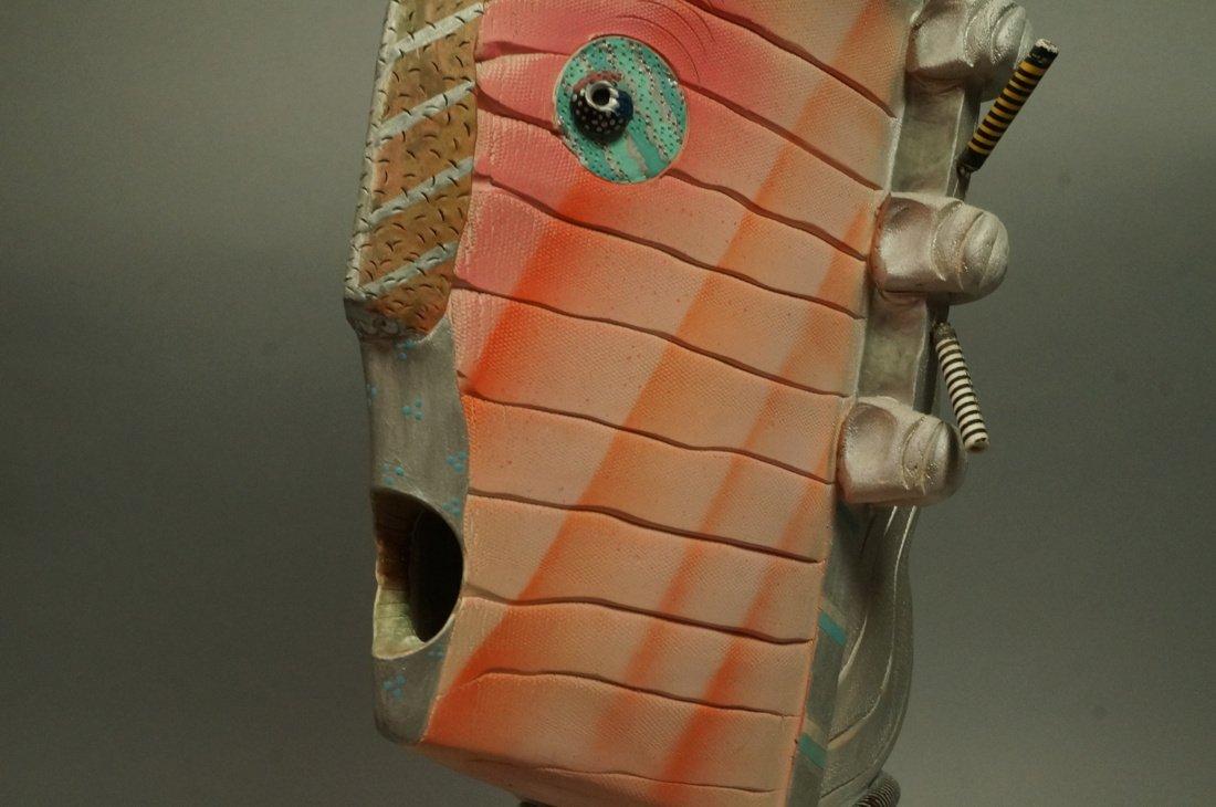 JAMIE DAVIS 6 '88 Memphis inspired Plaster Bust. - 9